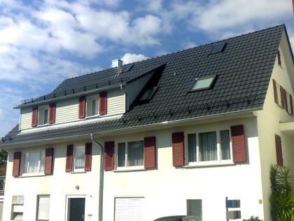 Energetische Dachsanierung Dusslingen Holzbau Saur