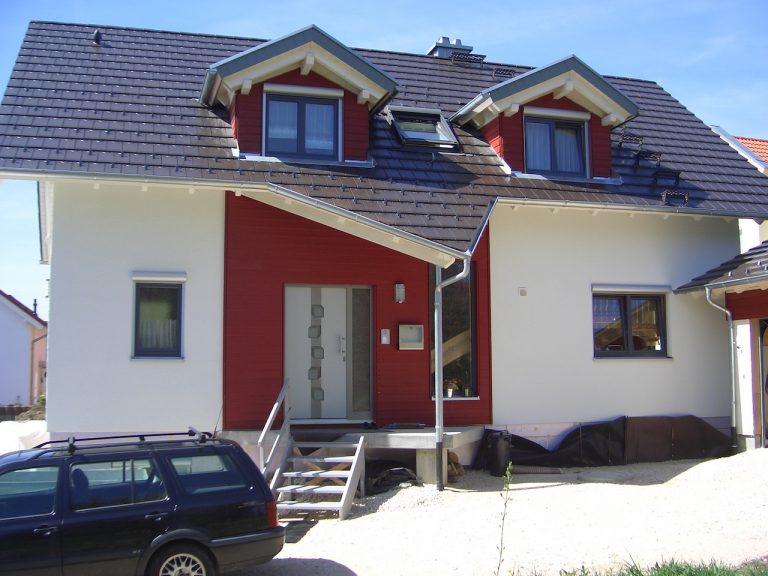 Ökologisches Holzhaus Saur Holzbau