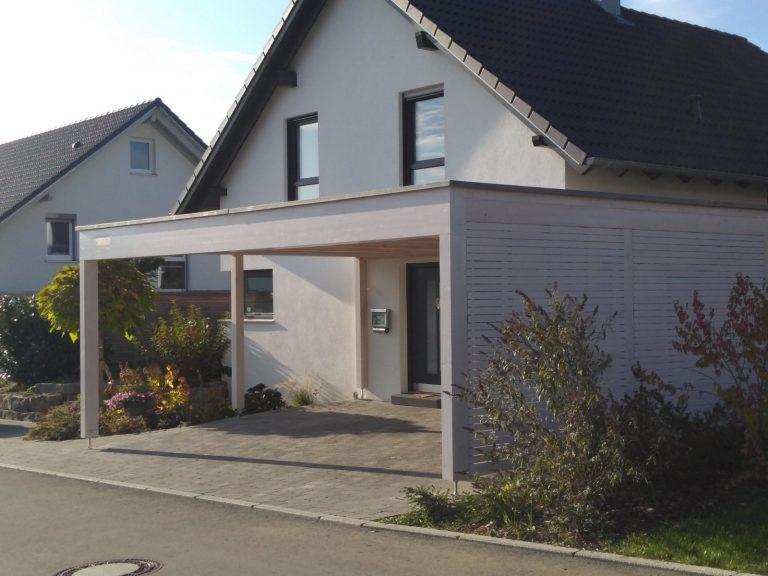 Carport Saur Holzbau Zimmerei