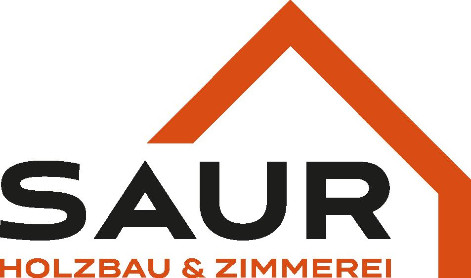 Saur Holzbau Zimmerei Logo transparent